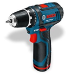 2. test Bosch GSR 10,8V-2-LI + GLI